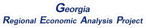 Georgia Regional Economic Analysis Project